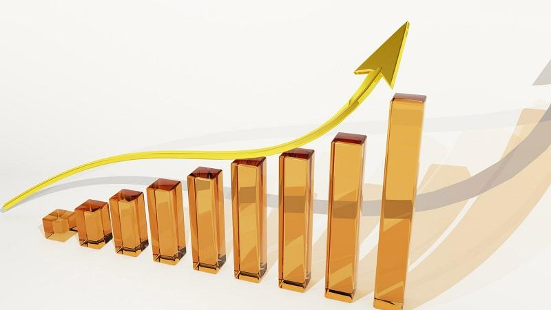 Upward trend in stocks