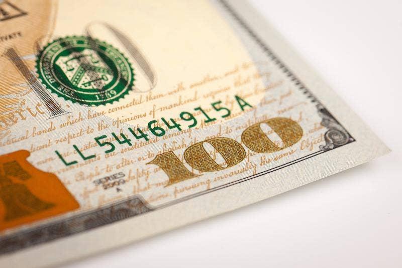 US Dollar close-up