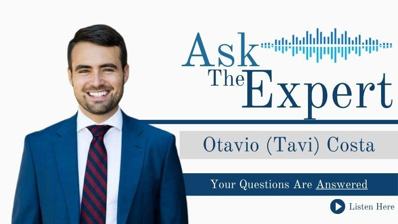 Ask the Expert with Tavi Costa