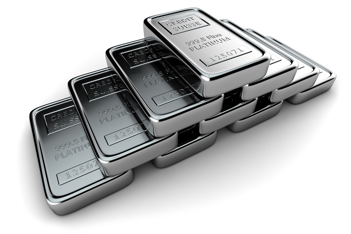 A small, pyramid shapped stack of silver bars