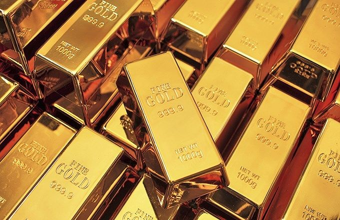 Image: Pile of Gold Bars