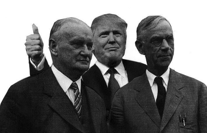 Donald Trump's Economic Mentors - Peter Diekmeyer