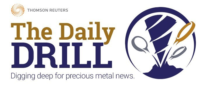 Logo - The Daily Drill - Digging Deep for precious metal news