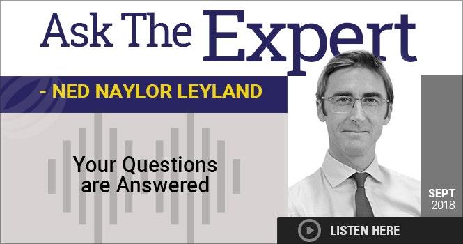 Headshot of Ned Leyland