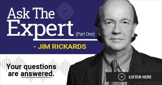 Headshot of Jim Rickards