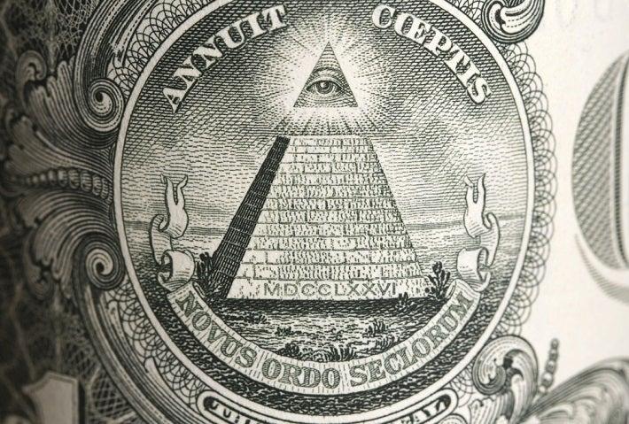Image: Close-up of dollar bill
