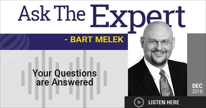 Headshot of Bart Melek
