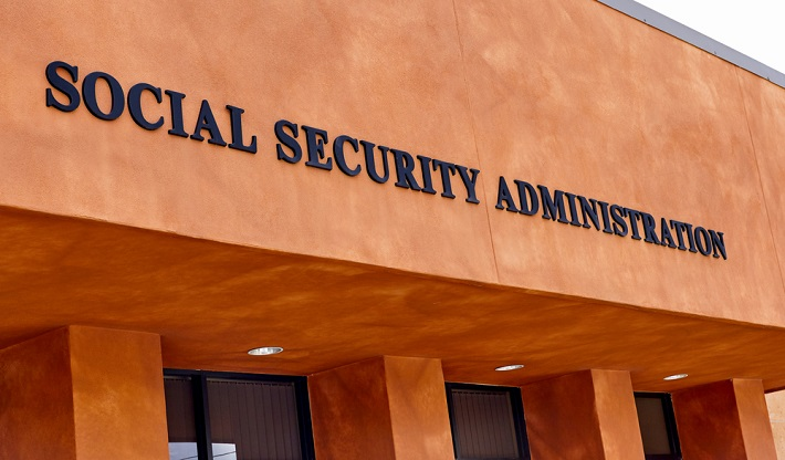 Image - front view of the office for Social Security Administration