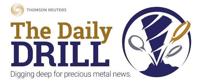 Logo - The Daily Drill  - Digging Deep for precious metal news.