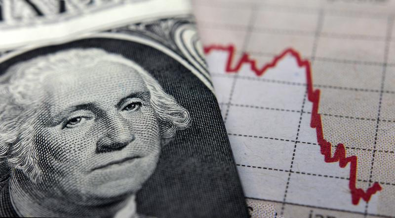 Image of George Washington with Graph in background