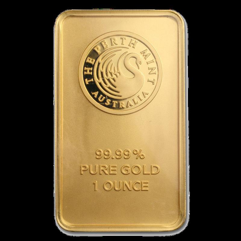 1 oz Gold Bar - Mint Varies