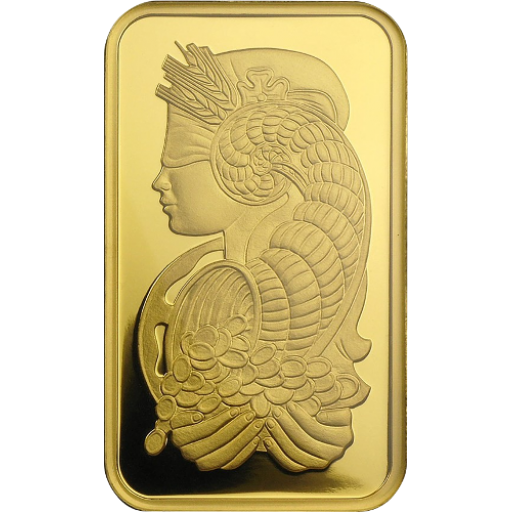 Pamp Suisse 1 oz Lady Fortuna Gold Bar