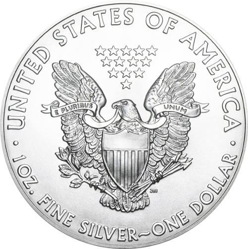 1 oz American Eagle Silver Coin (Random Year)