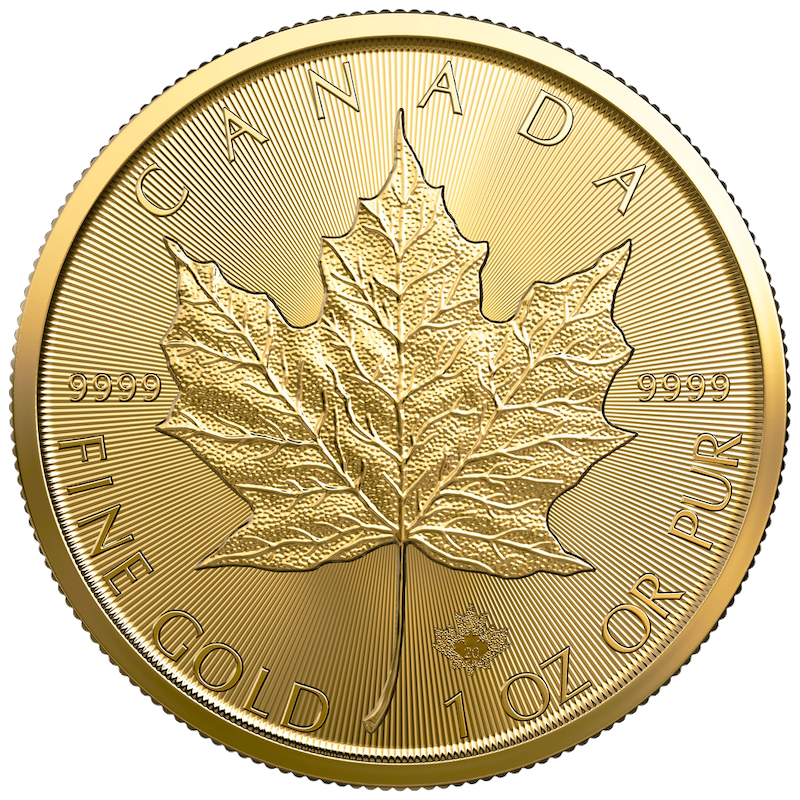 2021 1 oz Canadian Maple Leaf Gold Coin