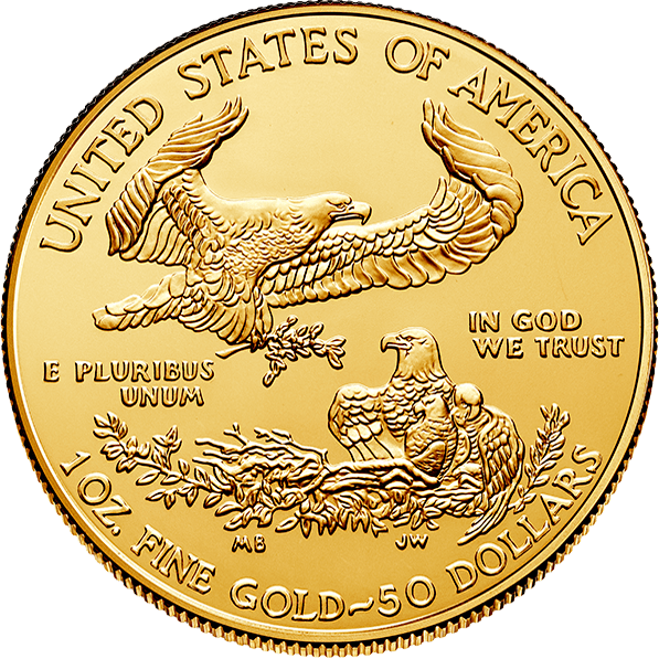 1 oz American Eagle Gold Coin (Random Year)
