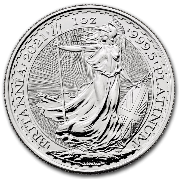 2021 1 oz Britannia Platinum Coin