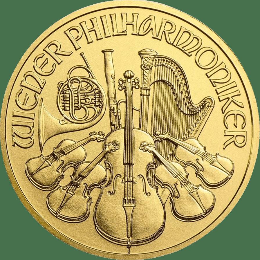 2021 1 oz Austrian Philharmonic Gold Coin