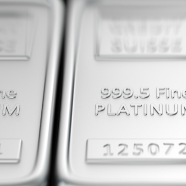 Three platinum bars