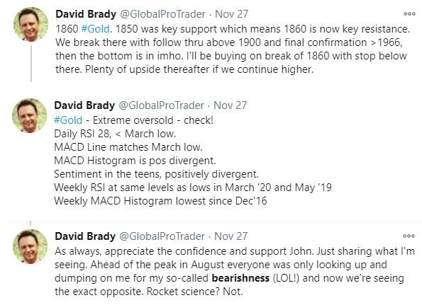 David Brady tweets